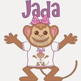 Little Monkey Jada Shot Glass