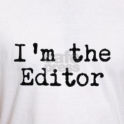 I'm the editor Shirt