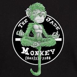 Dark Colored Jade Monkey Shirt