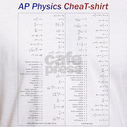 Fitted Physics CheatT-Shirt