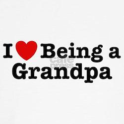 I Love Being a Grandpa T