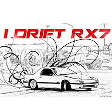 I Drift RX7 tshirt