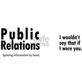 Public Relations. Spinning information, large
