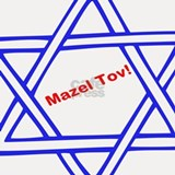 Mazel Tov Shot Glass