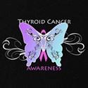 Thyroid cancer ribbon T-shirts