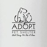 Unique A.d.o.p.t pet shelter Drinking Glass