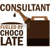 Consultant Chocoholic Gift Water Bottle
