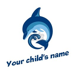 Dolphin Personalized Infant T-Shirt