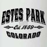 Estes Park Drinking Glass