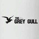 HAVEN: GREY GULL Drinking Glass