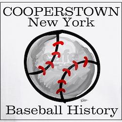 Cooperstown NY Baseball shopp Shirt