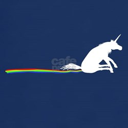 Unicorn Rainbow Shuffle T-Shirt