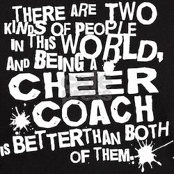 Cheer Coach (Funny) Gift T-Shirt