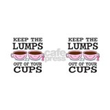 Lumps Out of Cups Small Mugs