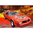 Pontiac firebird trans am Framed Prints