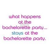 Bachelorette party Wall Decals