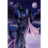 Anubis Wrapped Canvas Art