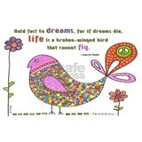 Literature quotes Wrapped Canvas Art