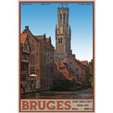 The bruges belfry Wall Decals