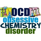 Obsessive chemistry disorder Posters