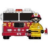 Fire engine Posters