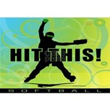 Softball Wall Decals