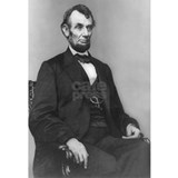 Abraham lincoln Wrapped Canvas Art