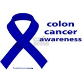 Colon cancer awareness Framed Prints