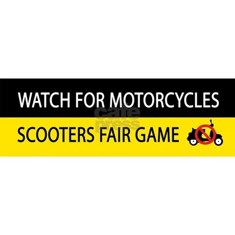 Motorcycle awareness bumper stickers - VTXOA