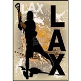 Boys lacrosse Wall Decals