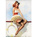 Wwii pinup girls Wall Decals