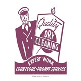 Dry cleaning Wall Decals