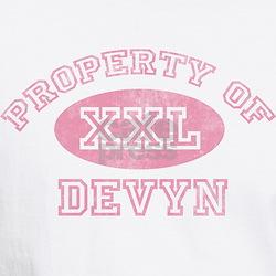 Property of Devyn Shirt