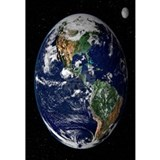 Earth Wrapped Canvas Art