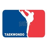 Taekwondo Wrapped Canvas Art