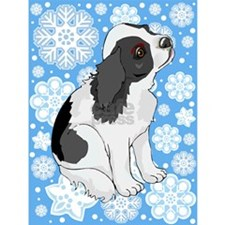 Holiday Cavalier King Charles Spaniel Christmas Cards