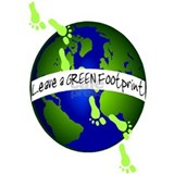 Carbon footprint Wrapped Canvas Art