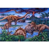 Dinosaur Framed Prints