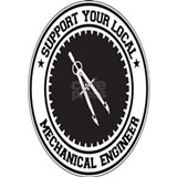 Mechanical engineer Wall Decals