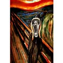 The scream Framed Prints