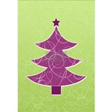 Purple christmas Posters