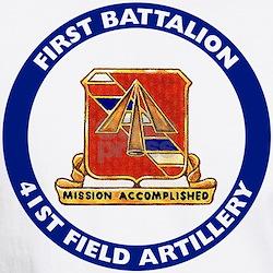 1st Bat./41st Artillery Shirt