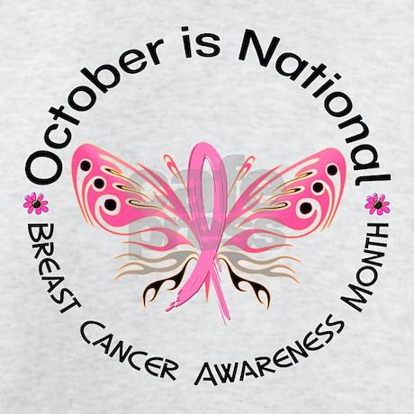 Breast Cancer Awareness Month Sweatshirt by pinkribbon01