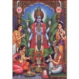 Vishnu Framed Prints