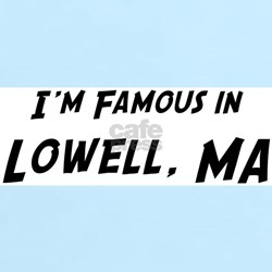 Famous in Lowell Women's Pink T-Shirt