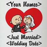 Just Married (Add Names & Wedding Date) Drinking G