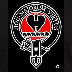 Clan Logan Black T-Shirt