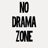 No Drama Zone Shot Glass