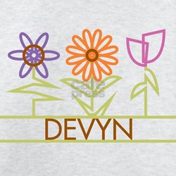 Devyn with cute flowers T-Shirt