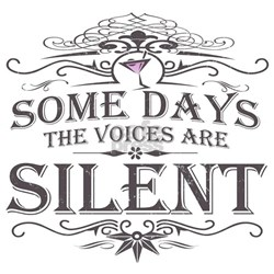 Voices Are Silent (Martini) T-Shirt